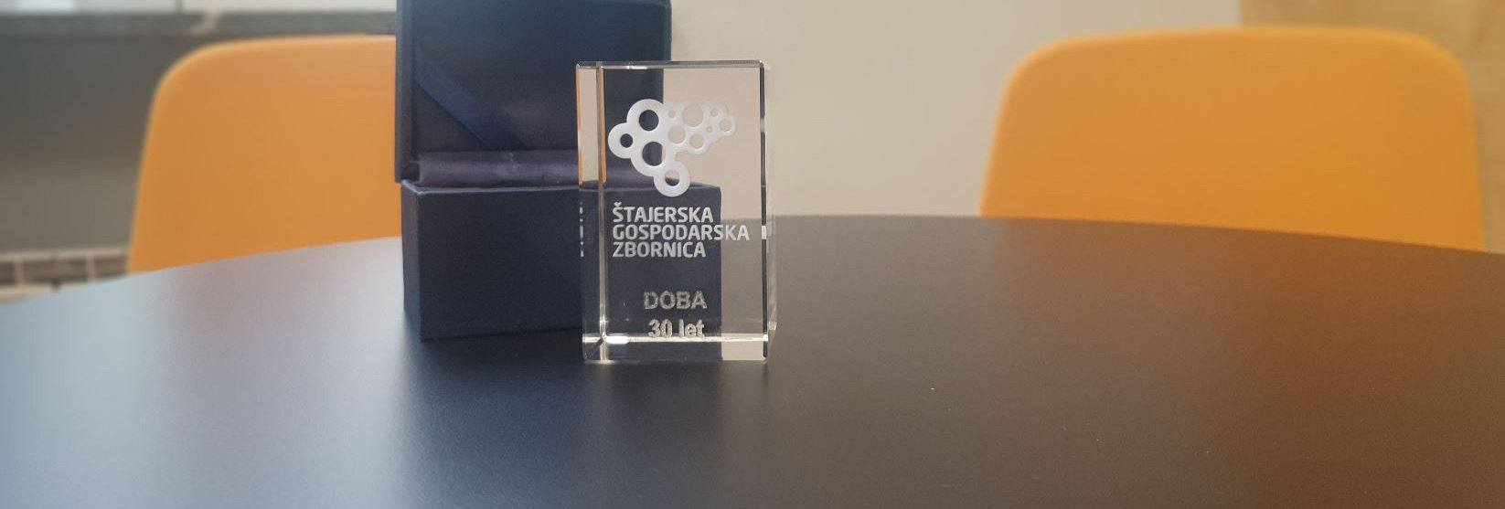 Nagrada Štajerske gospodarske zbornice DOBI ob 30. obletnici