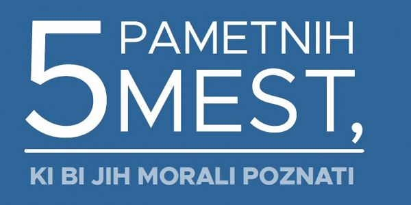 Prva e-knjiga o pametnih mestih v Sloveniji