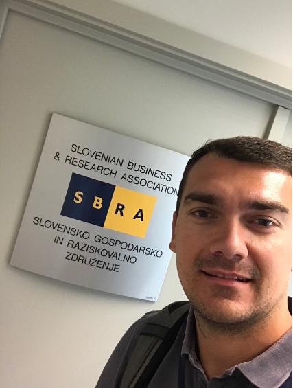 Milan Škraban, študent programa Poslovanje